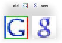 Google si přes noc změnil favicon